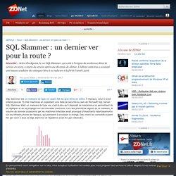 SQL Slammer : un dernier ver pour la route ? - ZDNet