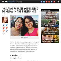 10 slang phrases you'll need to know in the Philippines
