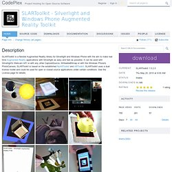 SLARToolkit - Silverlight Augmented Reality Toolkit