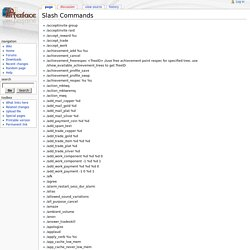 Slash Commands - EQ2Interface Wiki