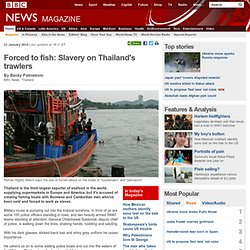 Forced to fish: Slavery on Thailand's trawlers