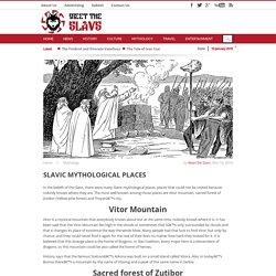 Slavic mythological places