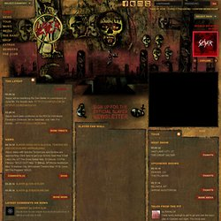 The Official Slayer Site