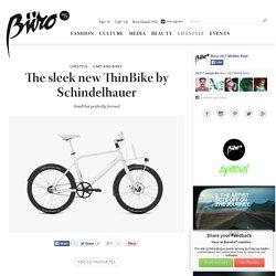 The sleek new ThinBike by Schindelhauer