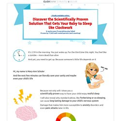 Baby Sleep Miracle - The Fastest and Safest Way to Get Your Baby to Sleep