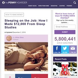 Sleep Study Guide: How One Woman Made $12,000 in Her Sleep