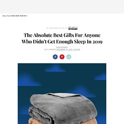 Sleep-Themed Products: Gift Ideas Guides 2019