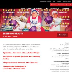 Sleeping Beauty - Hackney Empire