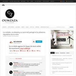 Le cododo, co-sleeping ou sommeil partagé et la présence régulatrice de la mère - Oumzaza.fr : Oumzaza.fr