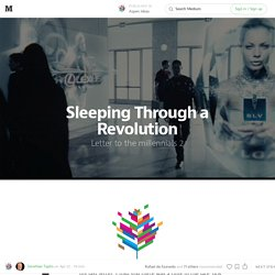 Sleeping Through a Revolution — Aspen Ideas