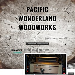 Pacific Wonderland Woodworks