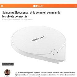 Samsung Sleepsense, et le sommeil commande les objets connectés