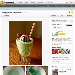Sleepy-Time Smoothie