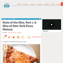A Slice of New York Pizza History