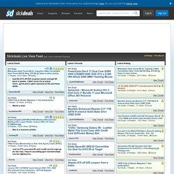 Slickdeals.net Live