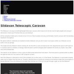 Slidavan Telescopic Caravan - Tiny House Blog