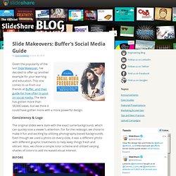Slide Makeovers: Buffer's Social Media Guide