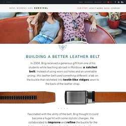 SlideBelts® Stylish Ratchet Belts Without Holes