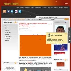 SlideMyPics: creare e condividere presentazioni per immagini in html5