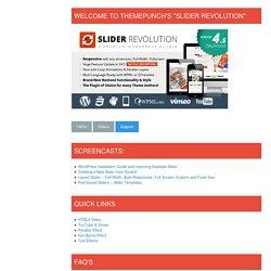 Slider Revolution - for WordPress