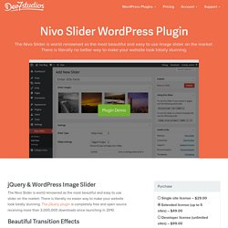 Nivo Slider WordPress Plugin - Dev7studios