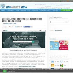 SlideRule, otra plataforma para buscar cursos online de alta calidad
