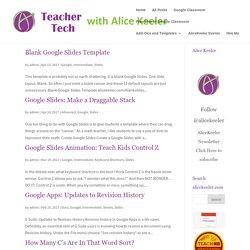 Slides Archives - Teacher Tech