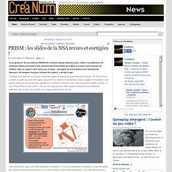 PRISM : les slides de la NSArevues et corrigées !