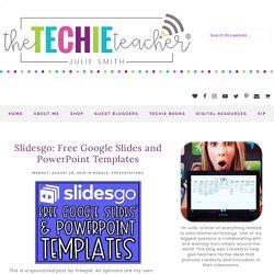Slidesgo: Free Google Slides and PowerPoint Templates