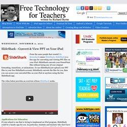 SlideShark - Convert & View PPT on Your iPad