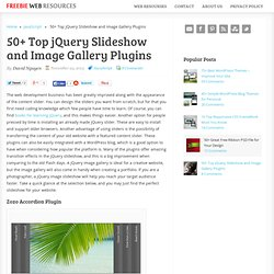 25 Top jQuery Slideshow and Image Gallery Plugins