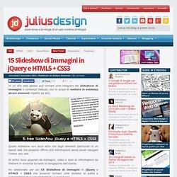 15 Slideshow di Immagini in jQuery e HTML5 + CSS3