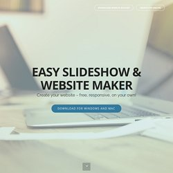 Free SlideShow Maker. Visual JavaScript SlideShow