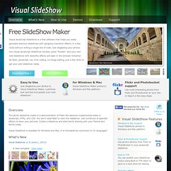 Free SlideShow Maker. Visual JavaScript SlideShow - Waterfox