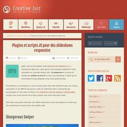 Plugins et scripts JS pour des slideshows responsive - JavaScript / jQuery