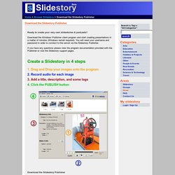 Download the Slidestory Publisher
