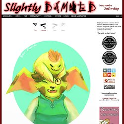Slightly Damned - New comics every Wednesday and Saturday!