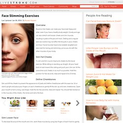 Face Slimming Exercises - StumbleUpon