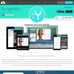 Share and collaborate from anywhere