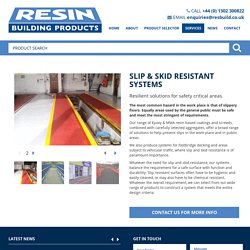 Slip & Skid Resistant Systems