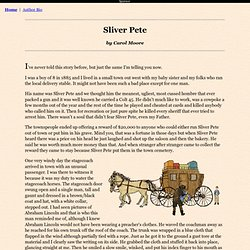 The Story of Sliver Pete - from Children's Storybooks Online