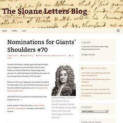 Sir Hans Sloane's Correspondence Online