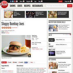 Sloppy Bombay Joes Recipe : Aarti Sequeira