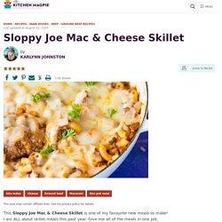 Sloppy Joe Mac & Cheese Skillet