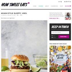 Sloppy Joes Recipe - Asian Style Sloppy Joes Recipe