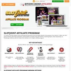 SlotJoint Affiliate Program – Startup Revenue Share of 50%
