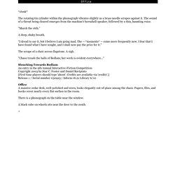 slouch - Parchment