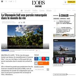 La Slovaquie fait une percée remarquée dans le monde du vin