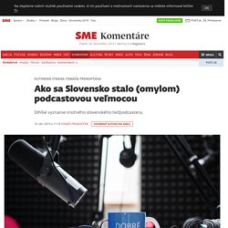 Podcast Slovaquie