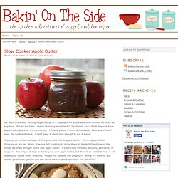 Slow Cooker Apple Butter - Aurora